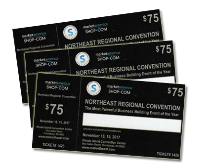 2017 Northeast Regional Convention ticket